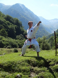 Christian Ganot dans les Pyrénées