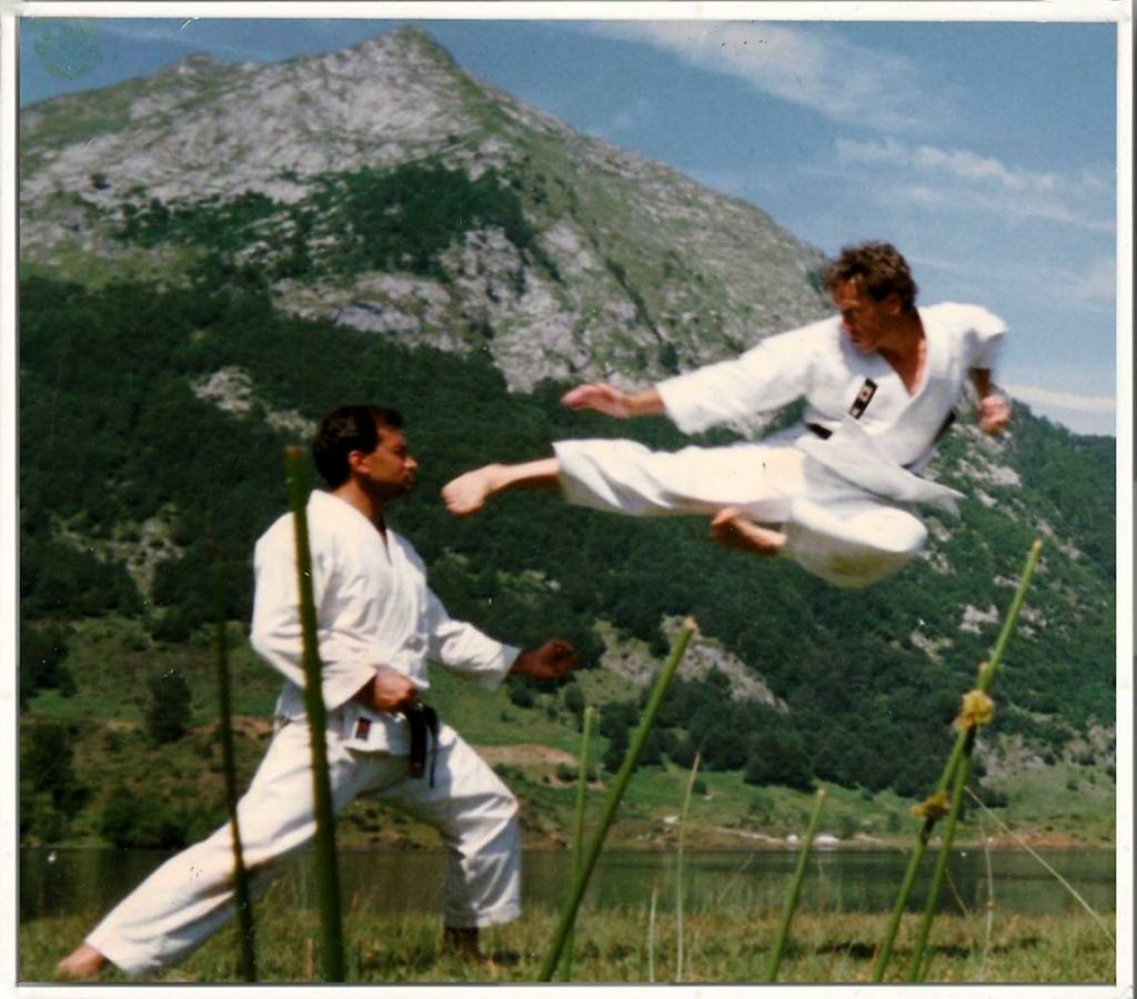Tobi Geri Christian Ganot à l'étang de l'hers Ariège